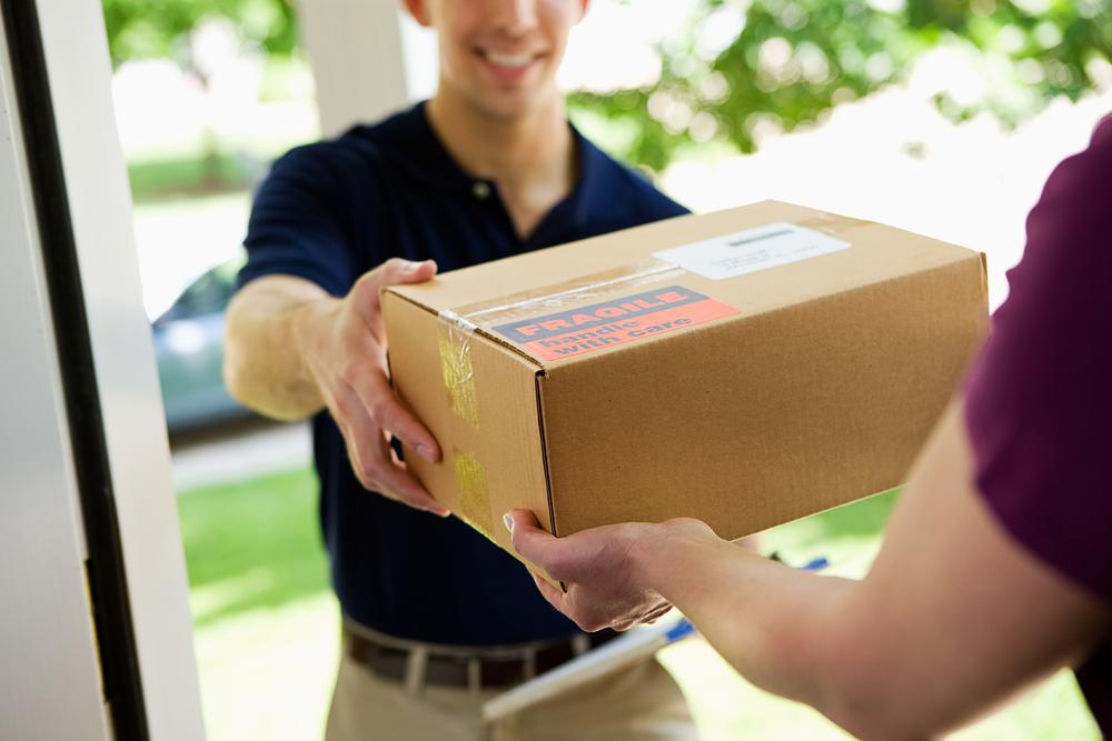 Så glad blir man av ett paket